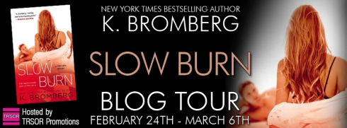slow burn - blog tour