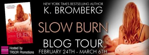 slow burn - blog tour