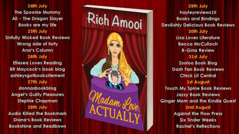 Madam Love Actually Full Tour Banner