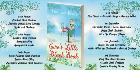 Evies Little Black book Full tour banner