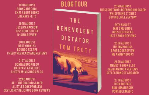 The Benevolent Dictator Full Tour Banner
