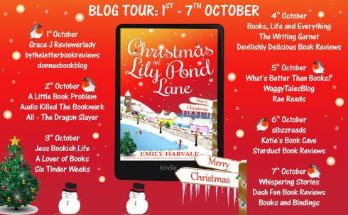 Christmas on Lily Pond Lane Full Tour Banner
