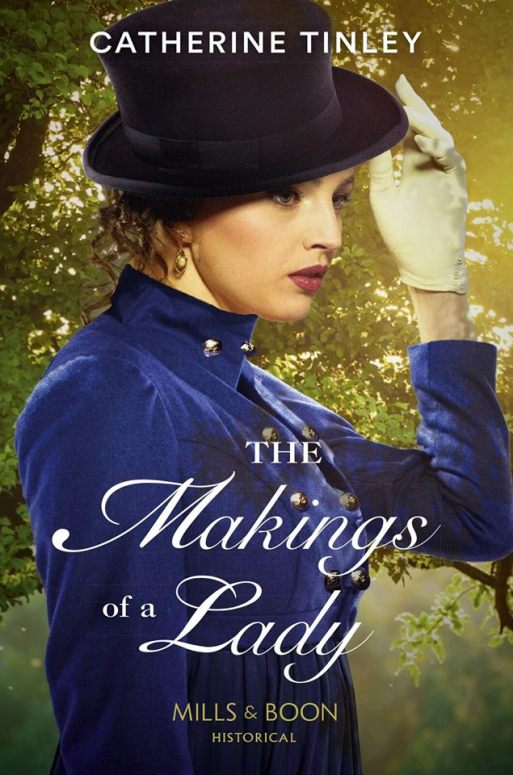 The Mills & Boon cover Makings of a Lady