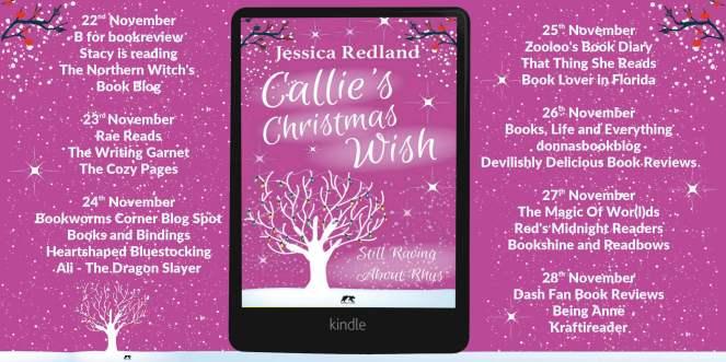 Callie's Christmas Wish Full Tour Banner