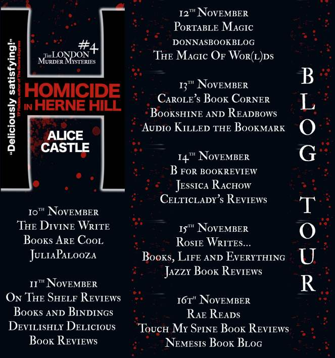 Homicide in Herne Hill Full Tour Banner