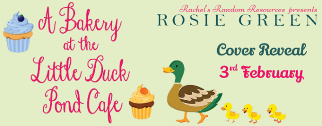 a bakery at the little duck pond cafe -cover reveal