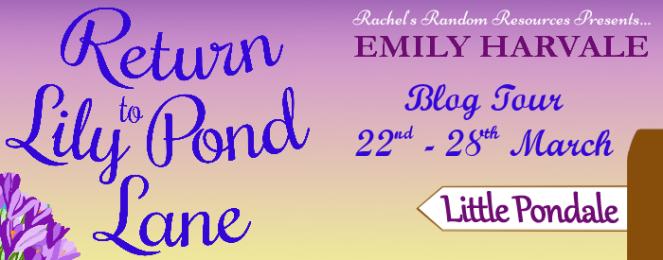 Return to Lily Pond Lane Blog Tour