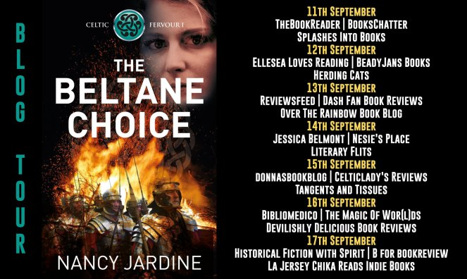 The Beltane Choice Full Tour Banner