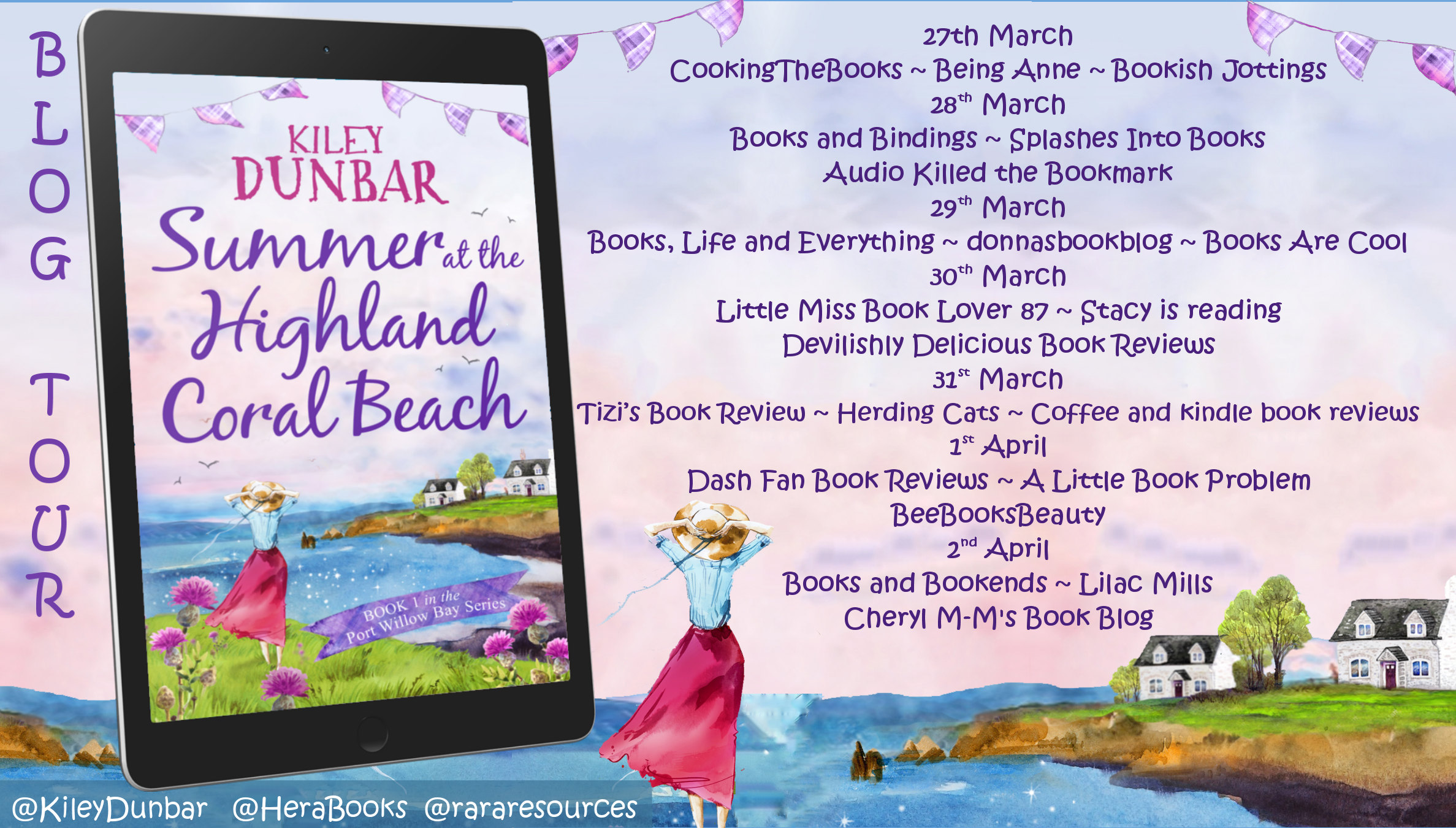 Summer at the Highland Coral Beach Full Tour Banner