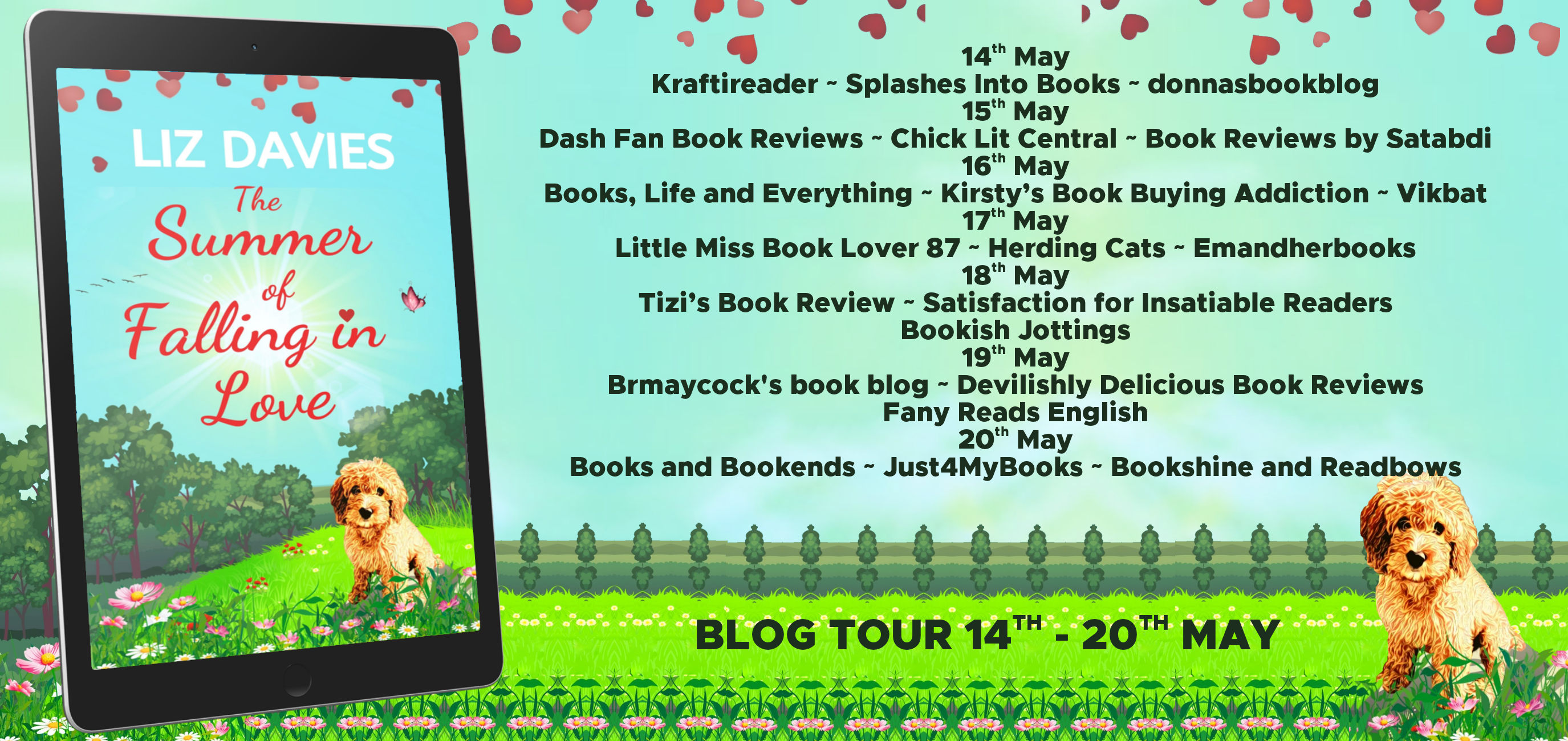 The Summer of Falling in Love Full Tour Banner